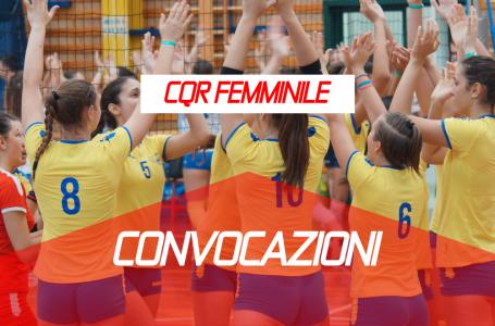 Convocazione Allenamento Femminile 10 Febbraio Palermo
