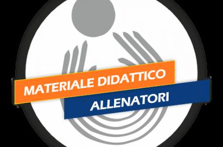 Allenatori: On Line il Materiale Didattico del Corso di Aggiornamento