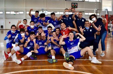 La Gupe Volley Catania è campione regionale Under 17 maschile, il Volley Modica si arrende in tre set