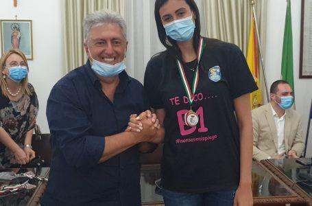 La Fipav Sicilia partecipa alla cerimonia di premiazione del Volley Terrasini, neo promosso in B1 femminile